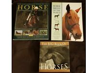 3 books on Horses - As new Condition.