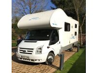 Self-Drive Motorhome Hire (4 - 7 berth)from Motorhomes4hire