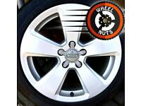 """17"""" Genuine Audi A3 Sport alloys excel cond good tyres."""