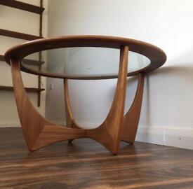SOLDG plan coffee table vintage retro mid century mid cent
