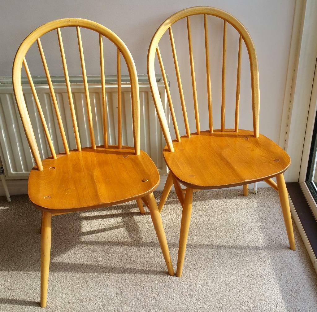 Ercol Windsor Dining Chairs Buy Sale And Trade Ads