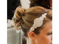 Beautiful bridal hairband