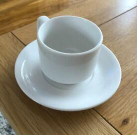 18 piece cups & saucers! BRAND NEW!