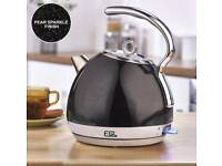 Egl 1.8l stainless steel sparkle dome kettle NEW