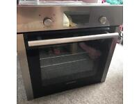 Hoover induction hob and Hoover self cleaning oven