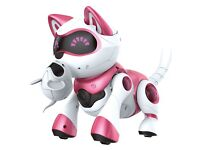 Teksta Robotic Kitty 4G, Electronic Pet PINK