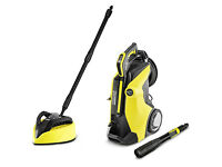 Karcher K7 Premium Full Control Plus Home Pressure Washer +T450 T-Racer Patio Cl