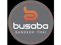 Wok Chefs needed for Busaba Bangkok Thai