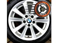 """##CHEAP## 17"""" BMW 5 Series alloys Renault Trafic Vauxhall Vivaro excellent premium tyres."""