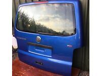 VW T5 Transporter Rear Tailgate Blue