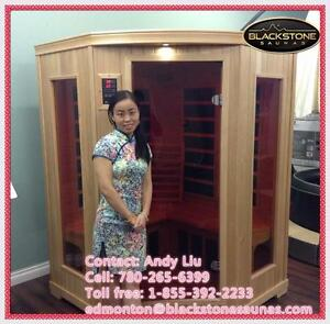 Infrared saunas, massage chair, custom saunas, hot yoga heating panel, sauna heaters on sale!