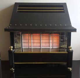 Flavel Regent Radiant/Convector 4.4 KW Gas Fire (Pewter)