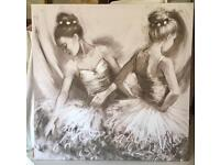 Large Next Ballerina Canvas Picture
