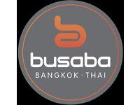 Waiting Staff for Busaba Bangkok Thai