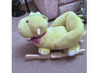 Roaring Rocking Dinosaur in Excellent Condition