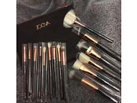 Brand new sealed make up brushes ZOEVA rose golden complete set of makeup brush