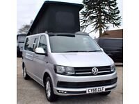 2016 66 Reg Volkswagen VW Transporter Highline 102ps Pop-Top Brand New Conversion Camper Campervan
