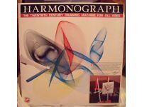 Harmonograph drawing machine