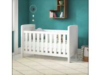 New Adora Cot Bed with Mattress