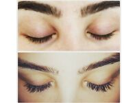 Individual eyelash extensions 50% off discount!