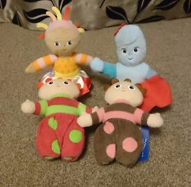 In The Night Garden Plush Toys - £3.50 each
