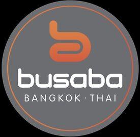 Commis Chef for Busaba Bangkok Thai