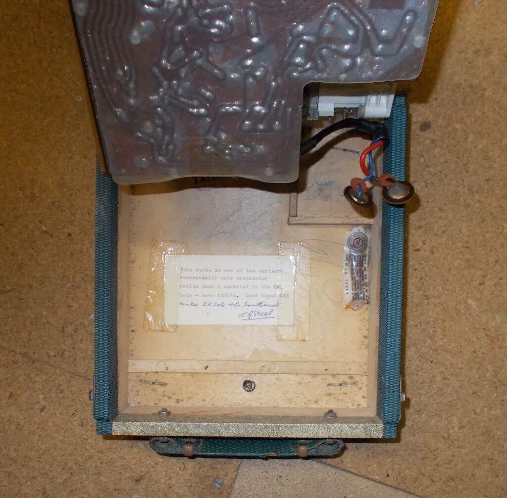 Collectors Item Vintage Ekco Model Transistor Radio Stereo Hifi One