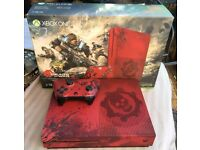 Xbox One S Gears of War 2TB Limited Edition Console or Xbox One Games/Accessories