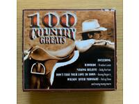 CD x 4 set - 100 Country Hits