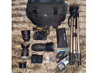 Nikon D3200 Camera Bundle - EXCELLENT VALUE