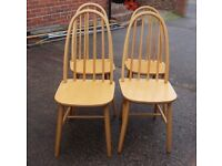 set 4 kitchen chairs or dining chairs