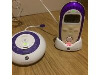 REDUCED BT digital baby monitor, 250 model