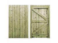 Festheredge wooden gates - BRAND NEW