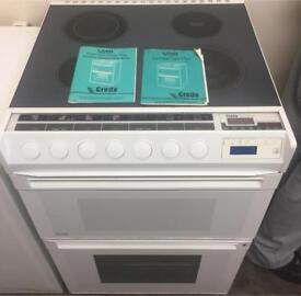Hotpoint creda 60cm Electric cooker can deliver