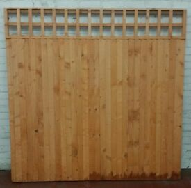 6'x6' Fence panels with trellis top design **** ONLY 9 LEFT****
