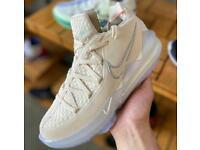 Nike lebron 17 low cream UK 10