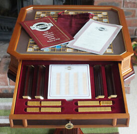 FRANKLIN MINT LIMITED EDITION SCRABBLE
