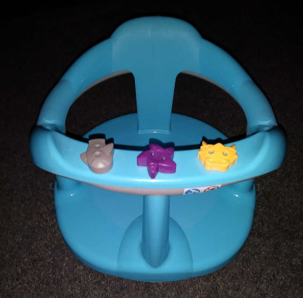 Kids II Bumbo style feeding seat and Aqua baby bath seat | in Arnold ...
