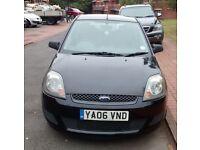 Ford Fiesta 3 Door Black 2006