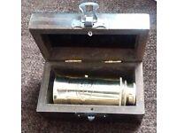 Pocket Nautical Brass Telescope