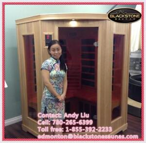 top sale sauna in our shop---2-3 person corner far infrared home sauna- reduce any pains.....