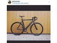 Goku cycles single speed bike fixed gear racing fixie track bike brand new steel frame bicycle q1