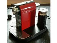 Krupps nespresso coffee pod machine