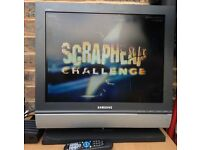 20inch Samsung SyncMaster 940MW Flat LCD TV TFT + freeview box
