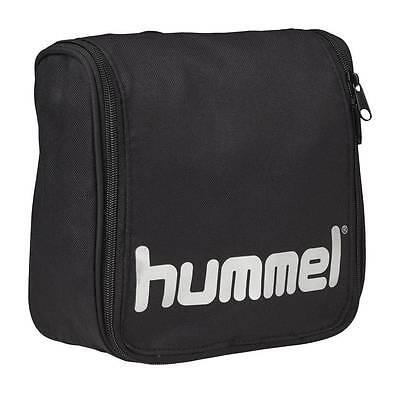 Hummel Authentic Toiletry Bag Kulturtasche schwarz-silber NEU 69465