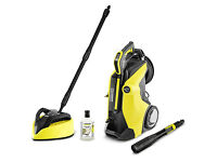 NEW Karcher K7 Premium Full Control Plus Home Pressure Washer +T450 T-Racer Patio Clener