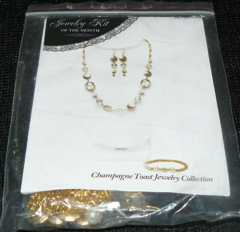 Champagne Jewelry Collection Kit of the Month #36192 Jewelry Making