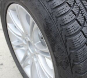 BMW X5 Winter Tires + Rims Set