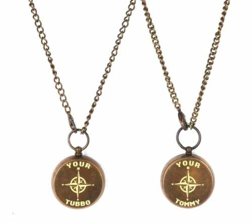 Your Tommy Your Tubbo Compass Necklace Friendship Love Pendent Compass Gift