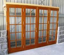 SOLID CEDAR, COLONIAL FRENCH BI FOLD DOORS, COMPLETE, NEW Vineyard Hawkesbury Area Preview